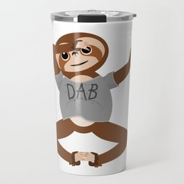 Sloth Dabbing Travel Mug