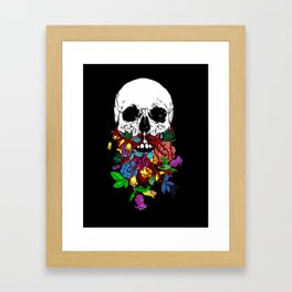 Beardtanical Framed Art Print
