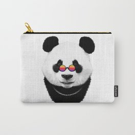 Hipster panda Carry-All Pouch
