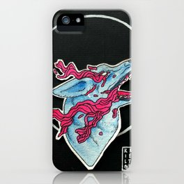 Sometimes it Feels Like I'm Drowning iPhone Case