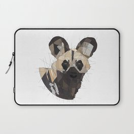 African Wild Dog Laptop Sleeve