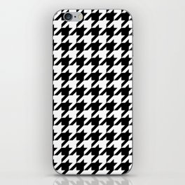 Classic Houndstooth Pattern iPhone Skin