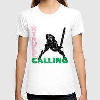 hyrule T-shirts featuring Hyrule Calling by machmigo