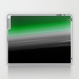 Green Gray Black Ombre Laptop & iPad Skin