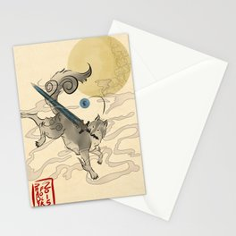 The Great Grey Wolf Sifkami Stationery Cards
