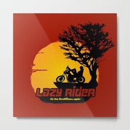 Lazy Rider Metal Print