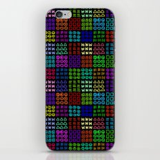 Aztec Wannabe (Black) iPhone & iPod Skin