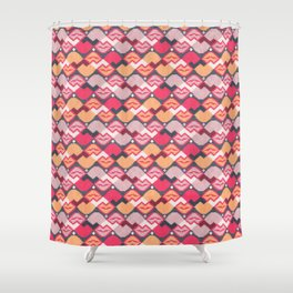 "Those lips are ""kilim"" me Shower Curtain"