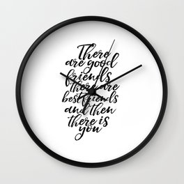 Engagement Gift Printable Art Gift Idea Love Love Sign Gift For Her Bff Gifts Best Friends Gift Wall Clock
