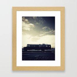 we bus Framed Art Print