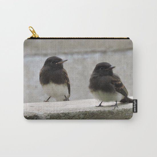 Young Black Phoebes Carry-All Pouch