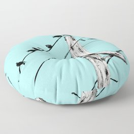 Brooke Figer - Assimilate Floor Pillow