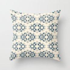Digital lace Throw Pillow