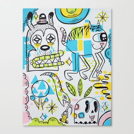 Shape Shifters Canvas Print