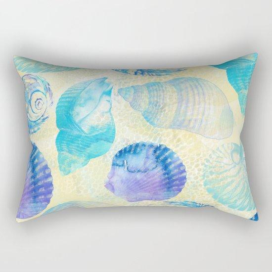 Seashells Rectangular Pillow