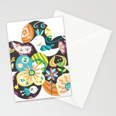 The forest of flower Stationery Cards