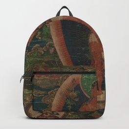 Bodhisattva Padmapani 18th Century Classical Tibetan Buddhist Art Backpack