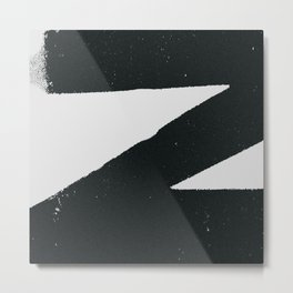 Printer-Mark Metal Print