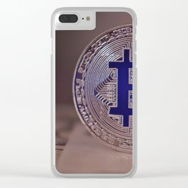 Bitcoin 7 Clear iPhone Case
