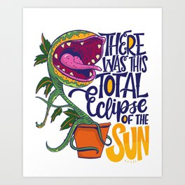 Total Eclipse of the Sun Art Print