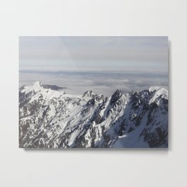 No Mountain Can Separate Me From You Metal Print