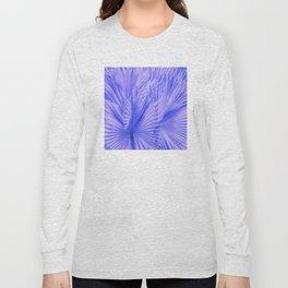 Palm Leaves: Purple Hues Long Sleeve T-shirt