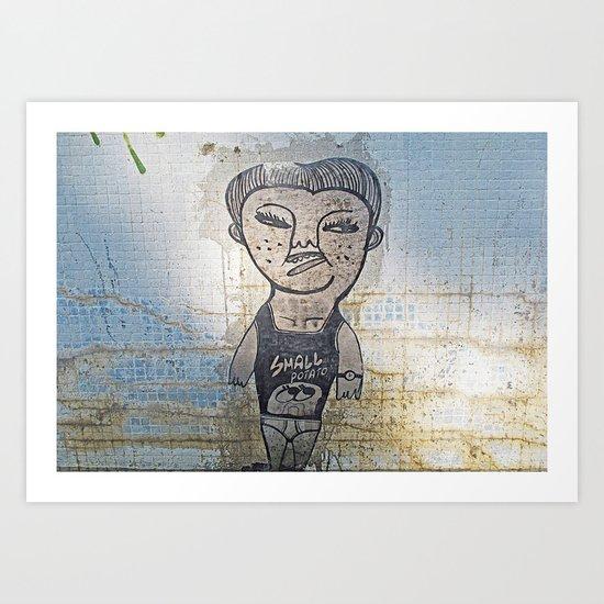Small Potato  Art Print