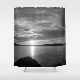 Maine series Shower Curtain