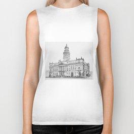 Wayne County Court House | Detroit Michigan Biker Tank