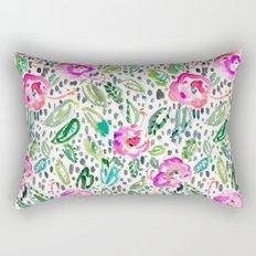 Hibiscus Frolic Rectangular Pillow