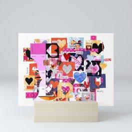 'love squared ...' Mini Art Print