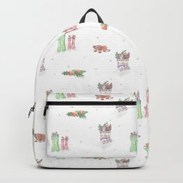 Christmas Boots 1 Backpack