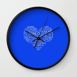 ..Pompey.. Wall Clock