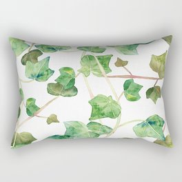 English Ivy Pattern Rectangular Pillow