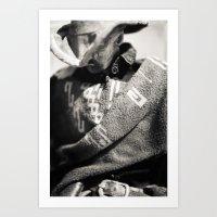 The Blind Cowboy • 10 Art Print