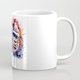 Gorilla Watercolor portrait Coffee Mug