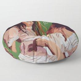 Shawmila - Green Floor Pillow