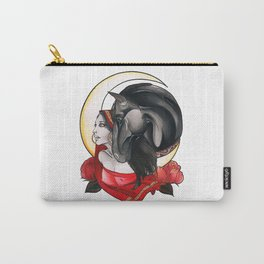 Woman Horse Carry-All Pouch