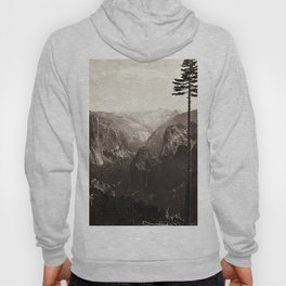 Vintage Yosemite Valley, California, ca. 1865 Hoody