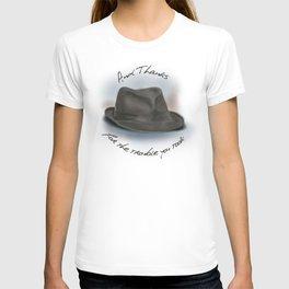 Hat for Leonard Cohen T-shirt