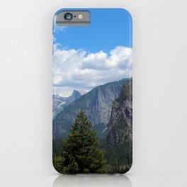 Half Dome and El Capitan, Yosemite, Spring 2020 iPhone Case