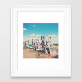 Cadillac Ranch ... Framed Art Print