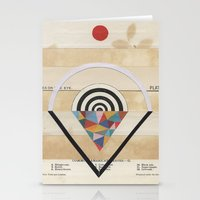 prism Stationery Cards featuring Prism by Laurie McCall