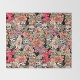 Because Sloths Throw Blanket