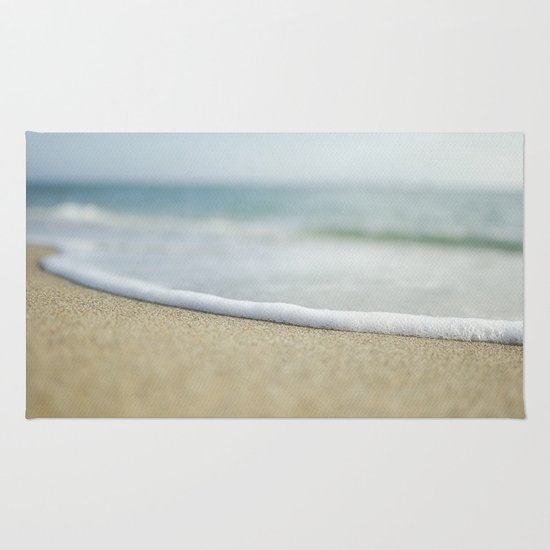 Sea Foam Beach Rug
