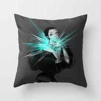 diamonds Throw Pillows featuring Diamonds. by Anwar Rafiee