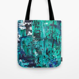 Pthalo Dance Tote Bag