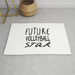 Future Volleyball Star Rug