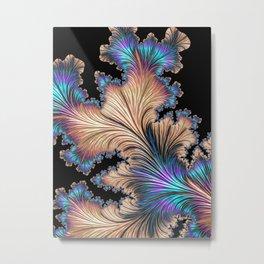 Fractal UV Metal Print