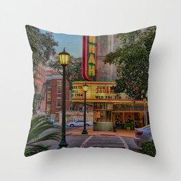 Savannah at night Throw Pillow